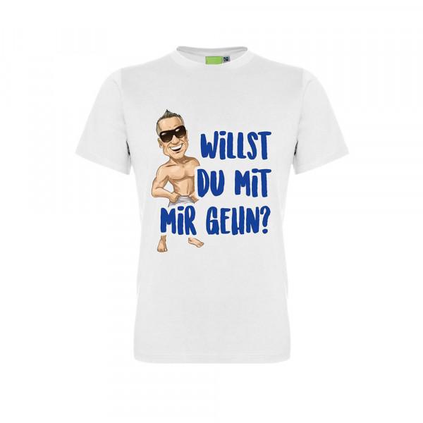 """Stefan Stürmer T-Shirt """"Willst Du mit mir gehen"""""""